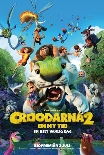 Affisch för Croodarna 2 - en ny tid