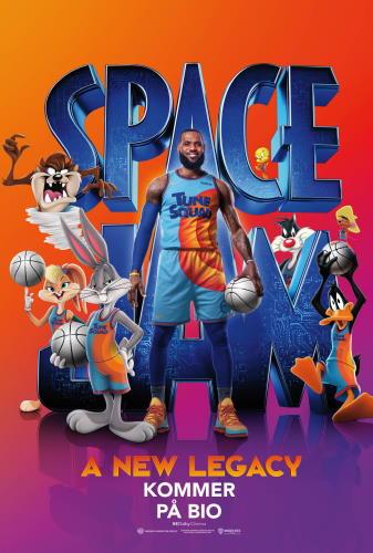 Affisch för Space Jam: A New Legacy (sv.)